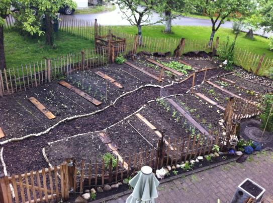 Garten bepflanzen
