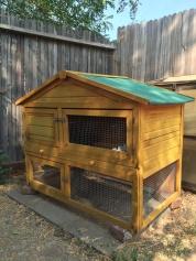 Gebrauchtes Hasenhaus