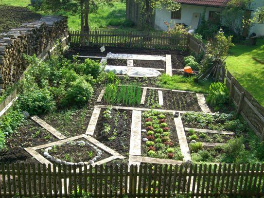 Garten eins in Bayern